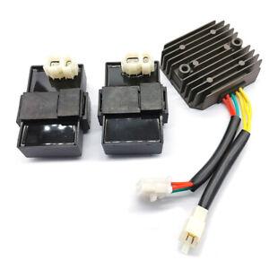 Pour-Honda-XL600-V-Transalp-MS8-XRV-650-Afrique-2Pcs-CDI-Unite-avec-regulateur