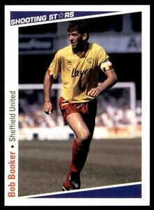 Details about Merlin Shooting Stars 91/92 - Sheffield United Booker Bob No   246