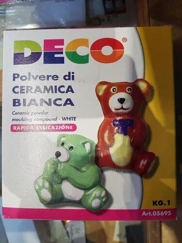 CWR polvere di caramica bianca 1 kilo  rapida essiccazione hobby creativo
