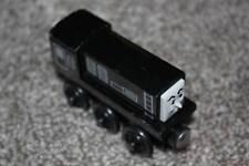 Thomas the Train Tank Engine & Friends Wooden Diesel Black 2003 Gullane Toy