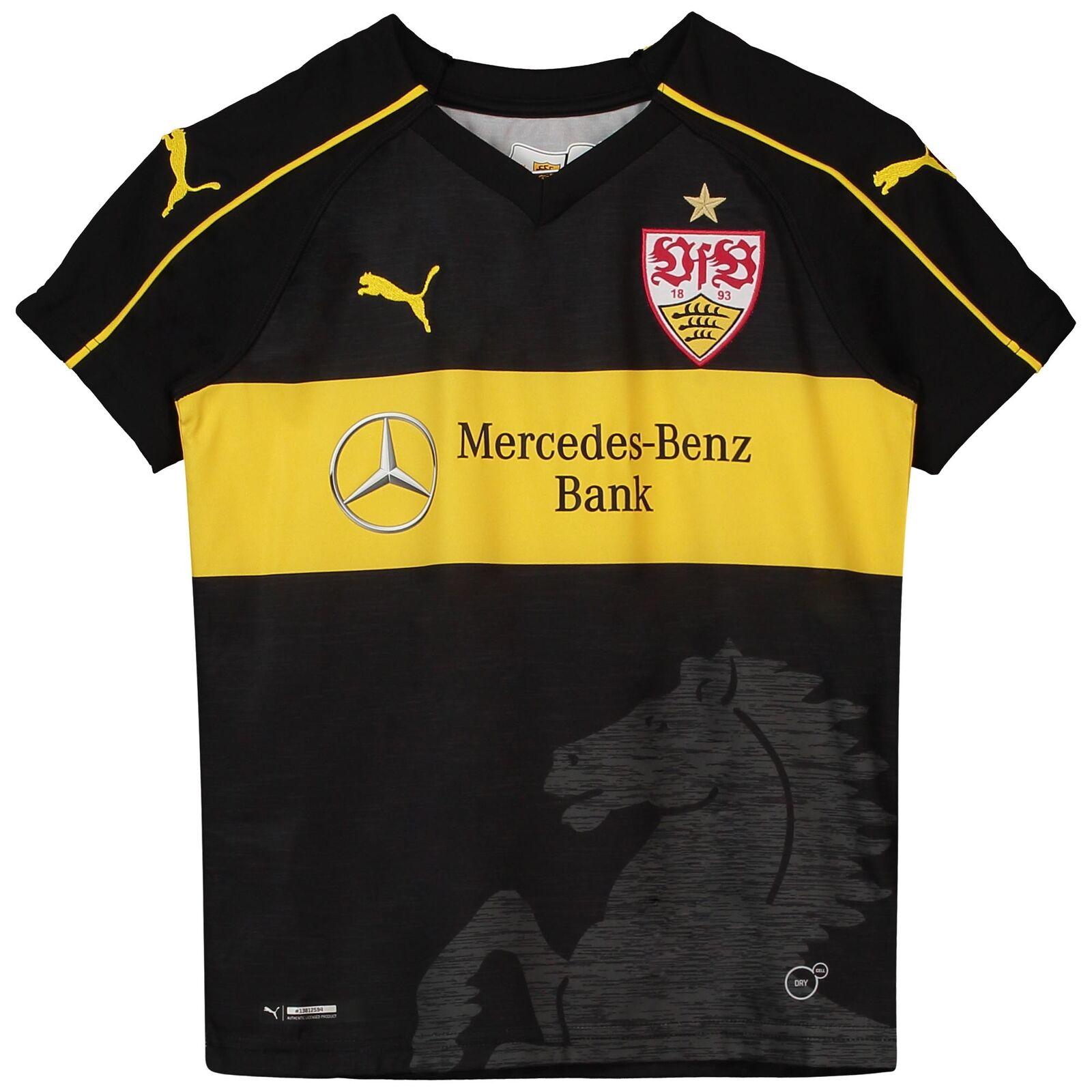 Offiziell VFB Stuttgart Third Shirt Fußball Trikot Oberteil 2018/19 Kinder PUMA