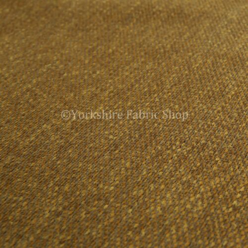 New Soft Durable Quality Woven Chenille Upholstery Fabric Yellow Mustard Colour