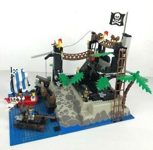 LEGO-PIRATES-6273-Rock-Island-Refuge-COMPLET-NO-instruction-1991