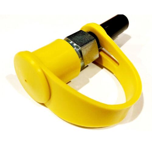M132034 2 Pack John Deere Hydraulic Fitting Coupler Port Plug Cap Set M132031