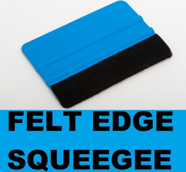 Pro Squeegee Tool for Car Wrapping + Vinyl Application for Bubble Free Effect