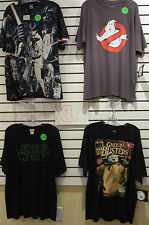 T-SHIRT LOT OF 4 EXTRA-LARGE XL GHOSTBUSTERS GHOST STAR WARS GLOW IN THE DARK