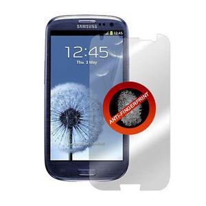 Samsung-i9300-Galaxy-S3-Film-de-protection-Mat-Anti-reflets-traces-de-doigt