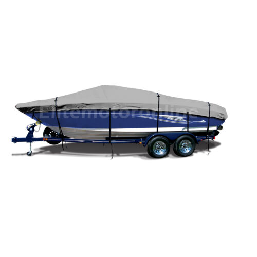 Starcraft Limited OB 1915 Deckboat Fishing Trailerable deck boat cover