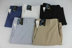 NEW-Roundtree-amp-Yorke-Performance-Size-36-Classic-Flat-Front-Men-039-s-Shorts-NWT