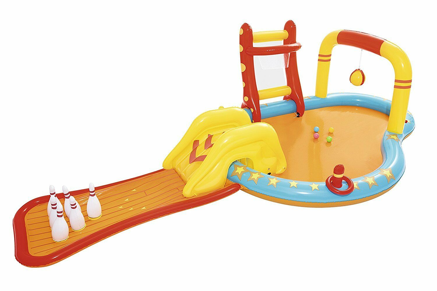 Bestway Inflatable Kids Water Play Center - Lil' Champ Pool Multiple Activities