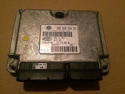 AUDI A2 2000 2005 1.4 AUA Unidad De Control Del Motor 036 906 034 ecus por ejemplo 036906034EG