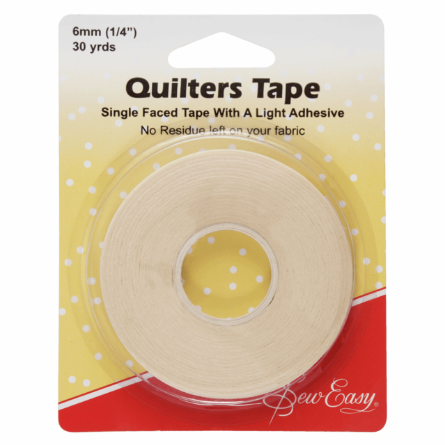Sew Easy 6mm 30 yards Quilters Tape