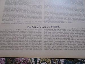 1925... Bauverwaltung 51/konrad Péenne Baudirektor De Stuttgart-afficher Le Titre D'origine Remise GéNéRale Sur La Vente 50-70%