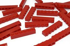 rouge 4 x LEGO 3009 Brique NEUF NEW bright red Brick 1x6