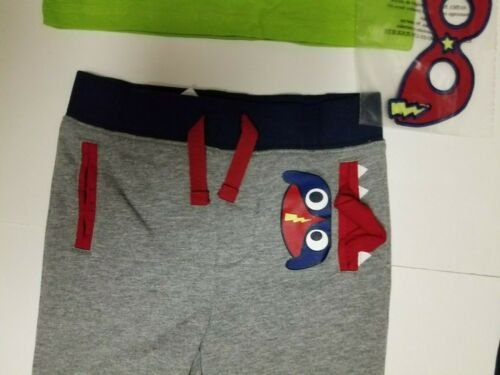 NWT Wonder Nation Toddler Outfit 2 Pack Jogger Change Glasses on Character