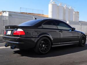 Detalles De Tronco De Arranque Aleron Labio Pintado Negro Zafiro 475 Para Bmw E46 Berlina Coupe M3 Ver Titulo Original
