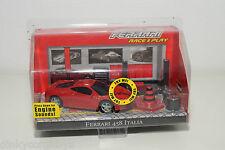 BBURAGO BURAGO FERRARI 458 ITALIA RACE AND PLAY SET MINT BOXED