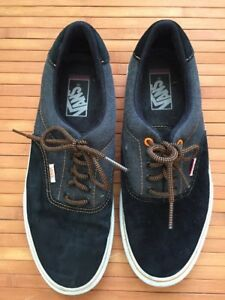 VANS Off The Wall Black Suede/Textile