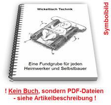 Wickeltisch selbst bauen - Wickelkommode Wickelunterlage Wickelauflage Technik