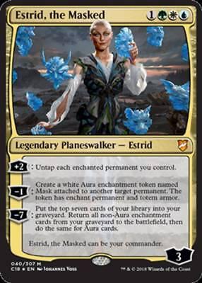 Estrid/'s Invocation Commander 2018 C18-008 Rare Mint MTG Card