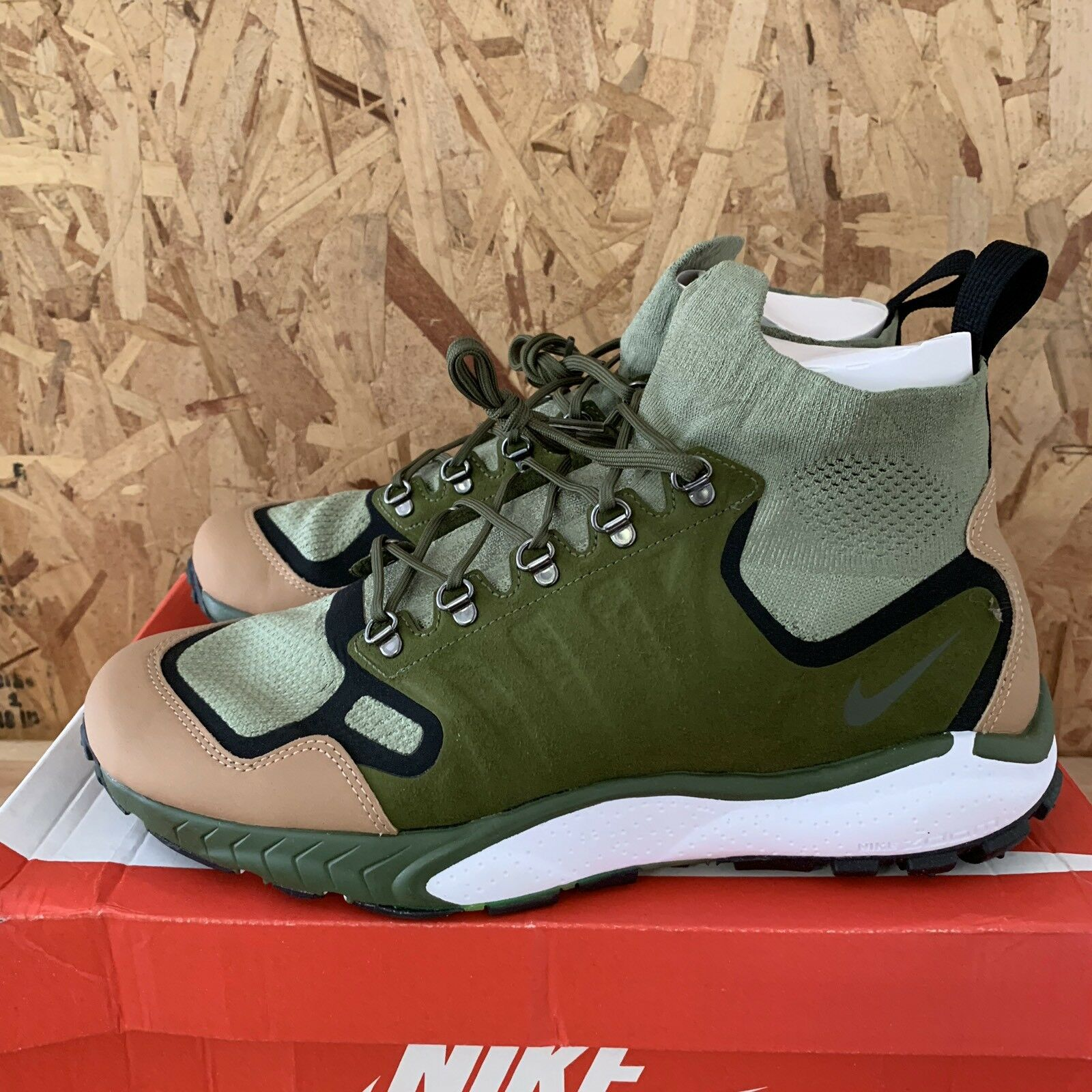 Nike Zoom Talaria Mid FK PRM - Palm Green   Legion Green Size 10.5 New