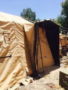 Image is loading Temper-Tent-Door-Section-Desert-Tropical-Desert-Tan- & Temper Tent Door Section Desert/Tropical Desert Tan NSN 8340-01 ...