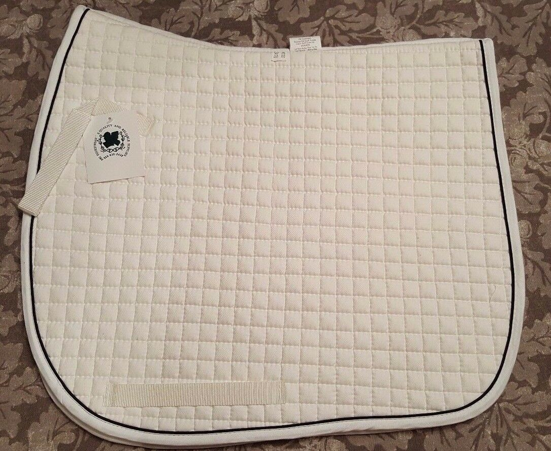 PRI QUILTED  SMALL DRESSAGE SHOW SADDLE PAD  presenting all the latest high street fashion