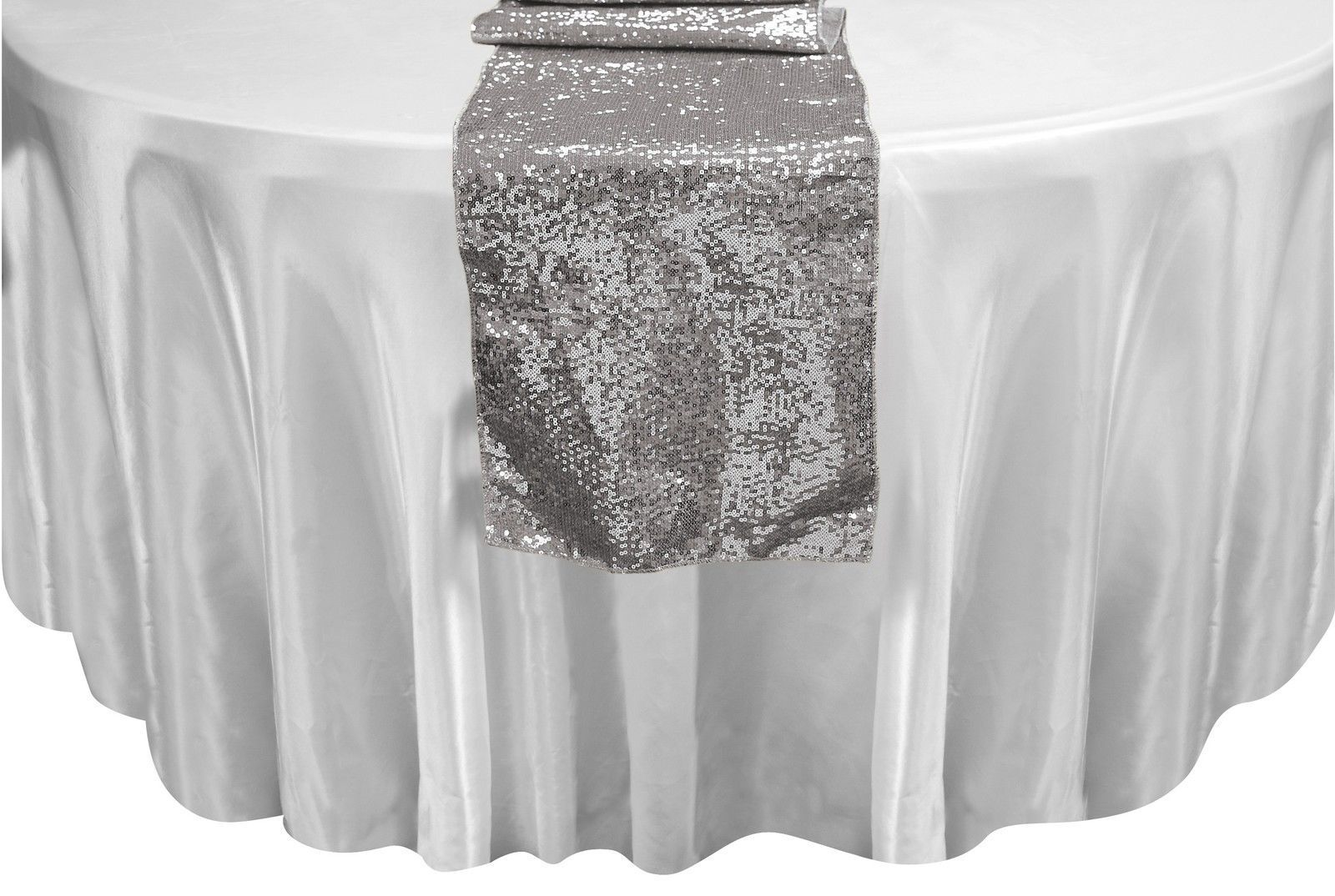 10 SEQUIN TABLE RUNNERS 12 X108 SPARKLY BEADED TABLERUNNER WEDDING EVENT PARTY