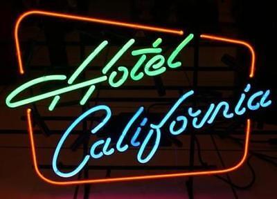 """17/""""x14/""""Hotel California Neon Sign KTV Bier Bar Wandbehang Handwerk Kunstwerk"""