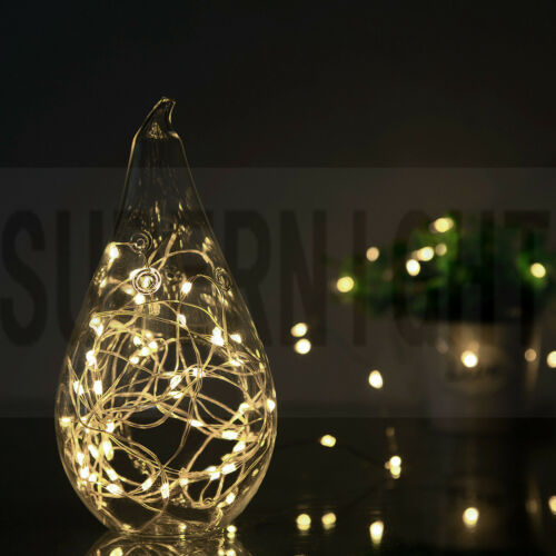 5M 66Leds Copper Wire LED String Fairy Light Timer with ON//OFF 9-Modes Remote