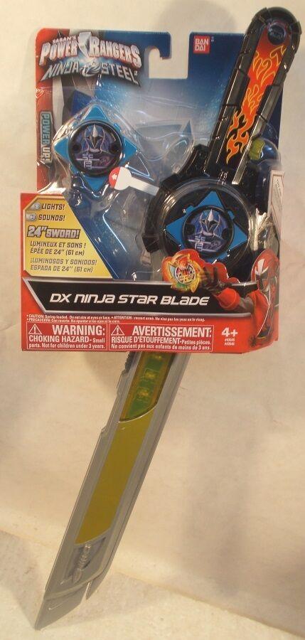 Los mejores precios y los estilos más frescos. Power Rangers Ninja Acero Hoja Estrella Ninja Dx Dx Dx Con Luces Y Sonido Juego de Rol  ¡envío gratis!