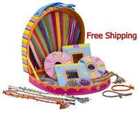 Toys Friendship Bracelets Kit Craft Maker Jewelry Making Complete Kids Activity