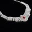 Fashion-Elegant-Women-Bib-Crystal-Pendant-Statement-Chain-Chunky-Choker-Necklace miniature 43