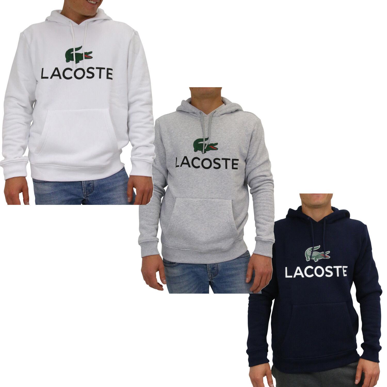 Lacoste Sweatshirt mit Kapuze Pullover Kapuzenpulli Hoodie Herren SH0601
