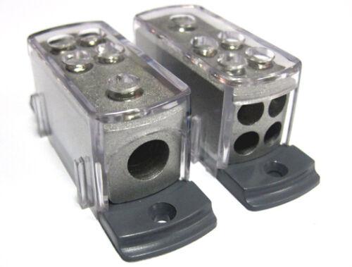 Power Ground Distribution Block 4 8 Gauge Amp Install