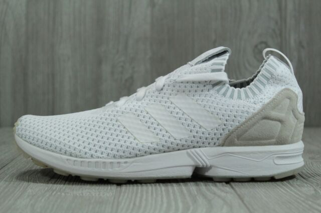 competitive price 69a86 bf186 35 Adidas ZX Flux PK Primeknit White Mens Shoes Size 10.5 S75977