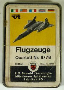 Quartett-Flugzeuge-Nr-II-78-F-X-Schmid-Nr-52422