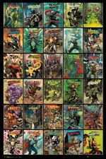 DOCTOR WHO COMICS COMPILATION POSTER PICTURE PRINT NEW 61X91CM LAMINATED