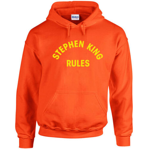 013 Stephan King Rules Hoodie movie funny halloween scary squad vintage retro