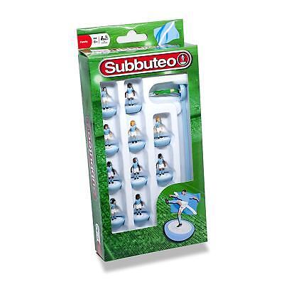 White Team Football Players Paul Lamond Box Set 3405 Subbuteo Light Blue