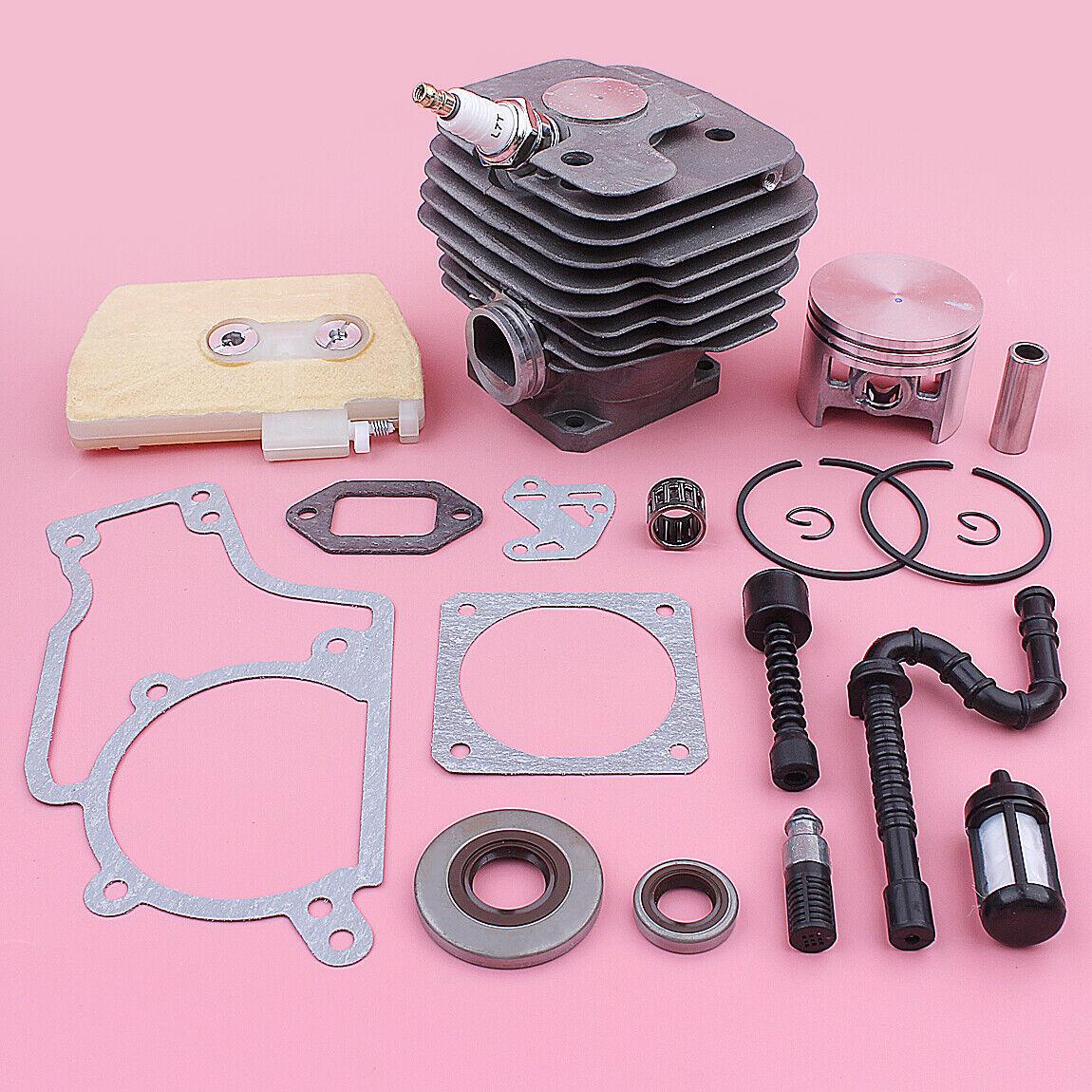 Kit de Pistón 52mm Cilindro para Stihl MS380 038 juntas de línea de Filtro de aceite combustible aire