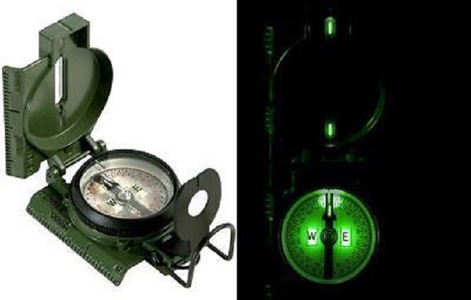 Us Army Military brújula brújula brújula tritio Cammenga Compass d18ec1