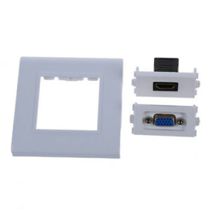 Piastra-femmina-HDMI-VGA-presa-jack-di-uscita-Component-Video-Composito-Wa-M1N1