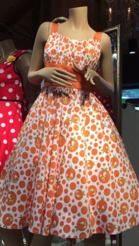 NWT Disney Parks The Dress Shop Womens Orange Bird Dress XS S M L XL XXL