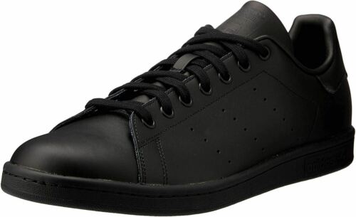 Adidas Original Stan Smith Black Mens Leather Trainers