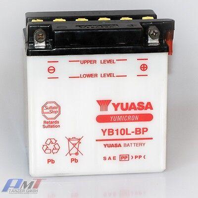 Battery YB 12A-A without Acid Pack YUASA BATTERY without