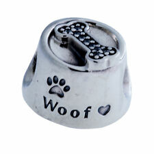 Authentic PANDORA Woof Charm in 925 Sterling Silver, 791708CZ