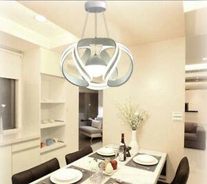 Lampadario Da Soffitto A Sfera Moderno Led 78w Lampada Luce Bianca O Naturale Ebay