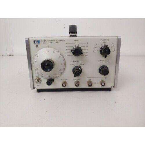 Hp 3310a Function Generator Hewlett Packard T5 For Sale Online Ebay