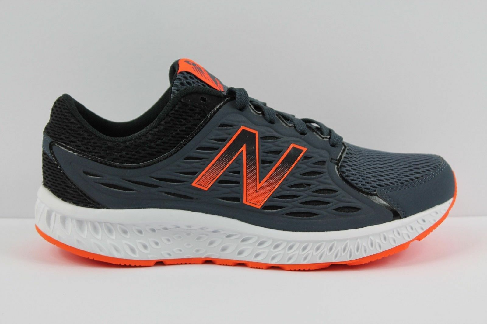 NEW Balance Men's M420LT3 running shoes Sneakers Size 9 4E XWide Grey orange